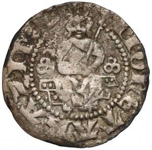 Kazimierz III Wielki, Półgrosz (kwartnik) Kraków