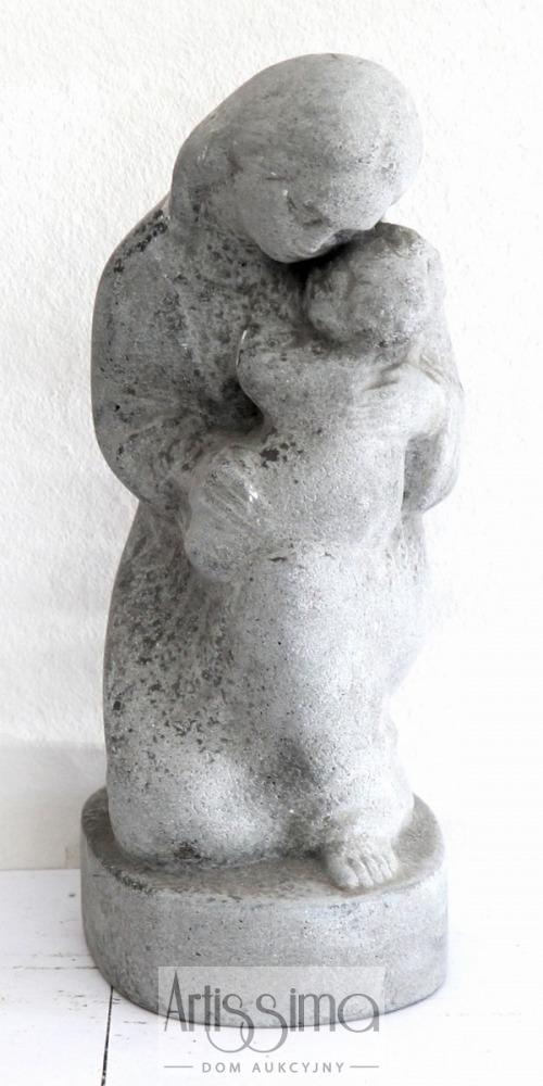 Figurka - Macierzyństwo, cement, wys. 19 cm