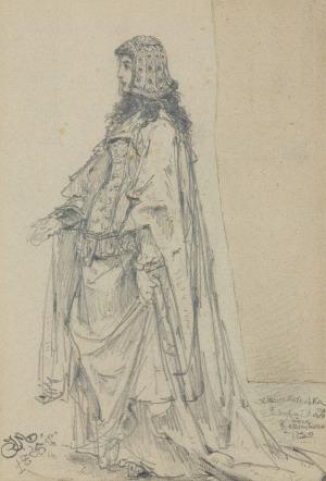 Matejko Jan, ADELAJDA KSIĘŻNICZKA HESKA, 1865