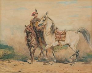 Kossak Juliusz, LUZAK, 1874