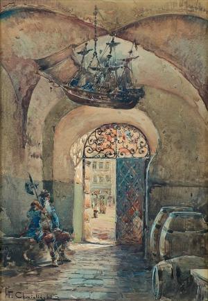 Chmieliński (Stachowicz) Władysław, BRAMA NA STARYM MIEŚCIE