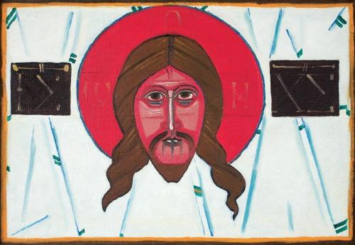 Nowosielski Jerzy, MANDYLION Z EDESSY, LATA 70. XX W.