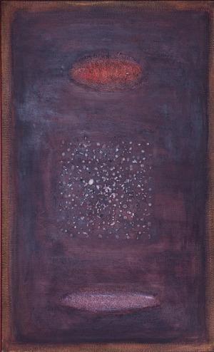 Roman Artymowski (1919-1993), KOMPOZYCJA Z FAKTURĄ VII, 1962 r.