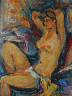 Otto Axer (1906-1983), Akt
