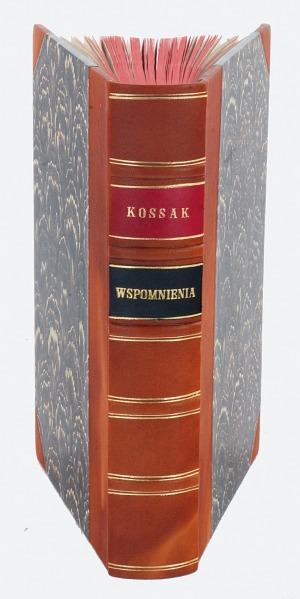 KOSSAK Wojciech, Wspomnienia