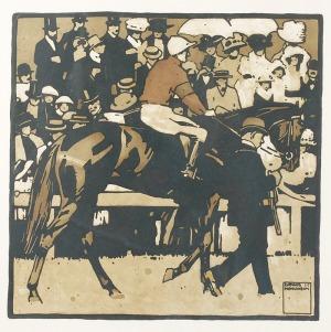 Ludwig HOHLWEIN (1874-1949), Wyścigi konne