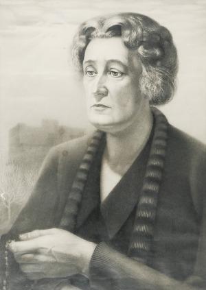 Marian KONARSKI (1909-1998), Matka z różańcem, 1937