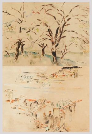 Mela MUTER (1876-1967), Obraz dwustronny: