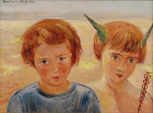 Wlastimil HOFMAN (1881-1970), W drogę, 1947