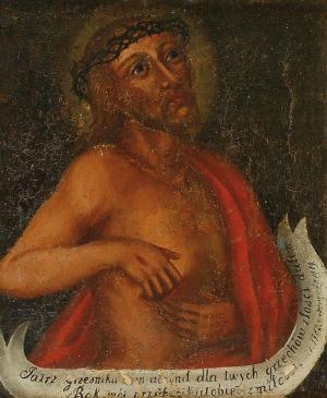 Malarz nieokreślony (XVIII w.), Ecce Homo, 1783