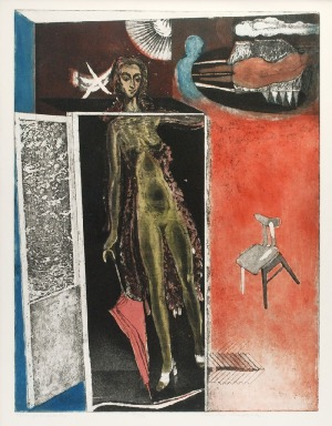 Konrad SRZEDNICKI (1894-1993), Już wychodzę, 1973