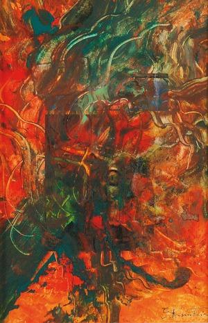 Erna ROSENSTEIN (1913-2004), Kompozycja abstrakcyjna, ok. 1990