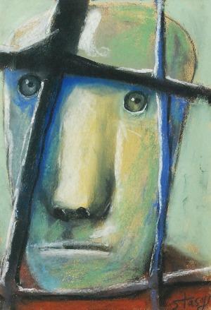 Stasys EIDRIGEVICIUS (ur. 1949), Twarz / Maska I