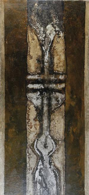 Hilary KRZYSZTOFIAK (1926-1979), Totem nr 15 z cyklu: Totemy żoliborskie