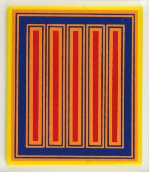 Richard ANUSZKIEWICZ (ur. 1930), Kompozycja, 1983