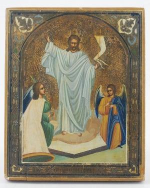 Ikona - Zmartwychwstanie