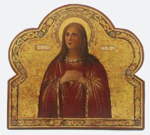 Ikona - Święta Maria Egipcjanka
