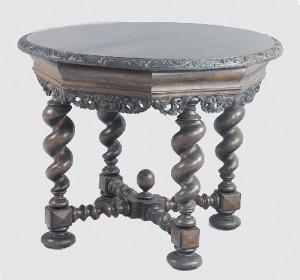 Stół neobarokowy