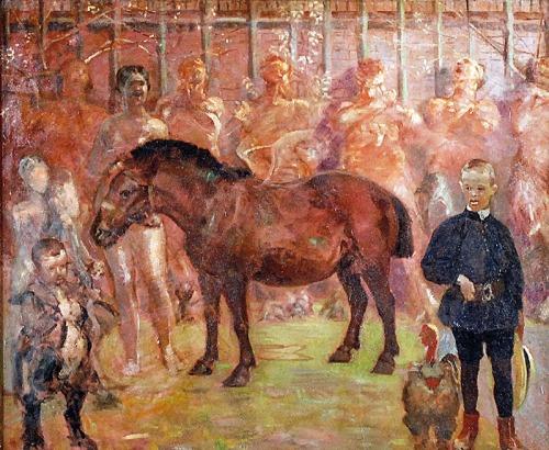Jacek MALCZEWSKI (1854-1929), Pegaz - Portret Rafała Malczewskiego, ok. 1902