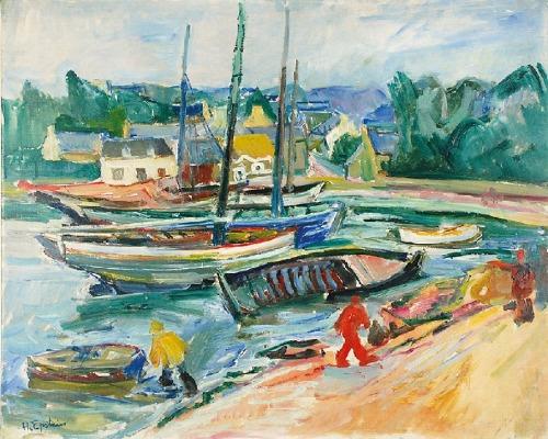 Henryk EPSTEIN (1892-1944), Port w Bretanii