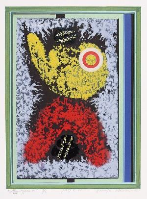 Henryk PŁÓCIENNIK (ur. 1933), Monotypia +, 2010