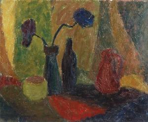 Zbigniew MAKOWSKI (ur. 1930), Martwa natura, 1961