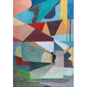 Eugeniusz WANIEK (1906-2009), Kompozycja, 1984