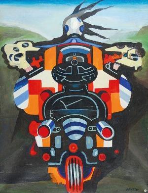 Lech OKOŁÓW (ur. 1933), Motocyklista