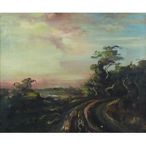 Henryk KOZAKIEWICZ (1936-1985), Pejzaż surrealistyczny