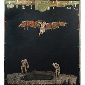 Wojciech KOPCZYŃSKI (ur. 1955), Kompozycja - bez tytułu, 2000