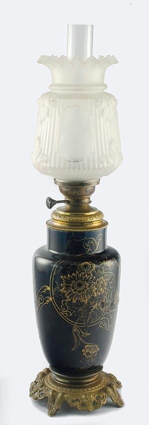Lampa naftowa orientalizująca