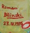 Roman BILIŃSKI (1897-1981), Orchidee, 1976