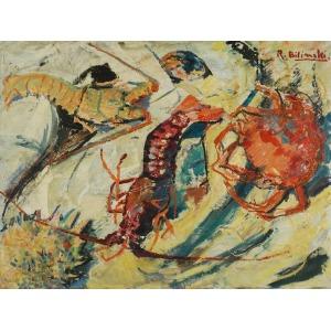 Roman BILIŃSKI (1897-1981), Skorupiaki [Crostacei], 1961