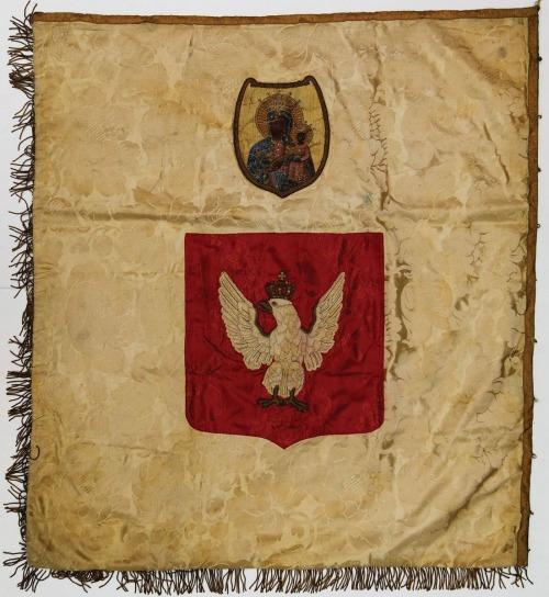SZTANDAR GIMNAZJUM I LICEUM ZGROMADZENIA HANDLOWEGO KUPCÓW MIASTA WŁOCHY, Polska, przed 1927