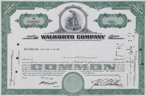 50 AKCJI, WALWORTH COMPANY