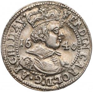 Austria, Tyrol, Ferdynand Karol, 3 krajcary 1640