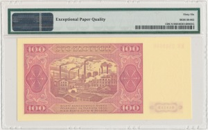 100 złotych 1948 - KR - PMG 66 EPQ