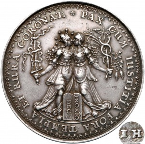 Władysław IV, medal Na pamiątkę rozejmu w Sztumskiej Wsi 1635 (1642) - HÖHN