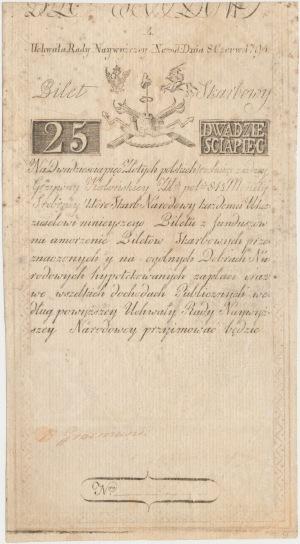 25 złotych 1794 - A - D&C Blau[w]
