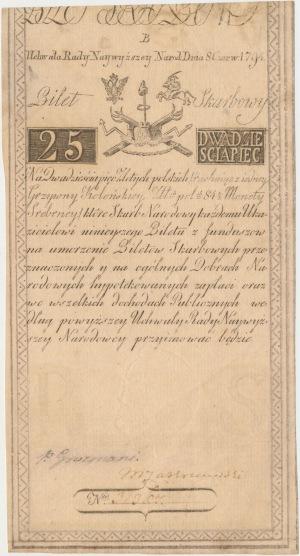 25 złotych 1794 - B - D&C Blauw