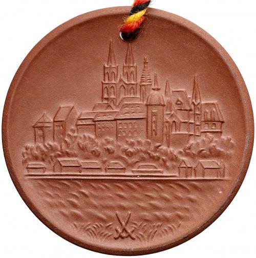 Niemcy, Miśnia, Medal porcelana (36.5mm) J.F.Böttger
