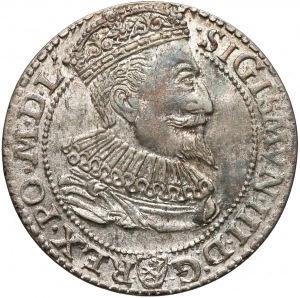 Zygmunt III Waza, Szóstak Malbork 1596 - mała głowa