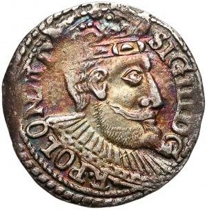 Zygmunt III Waza, Trojak Olkusz 1599 - błąd M D