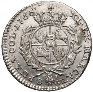 Poniatowski, Dwuzłotówka 1766 FS