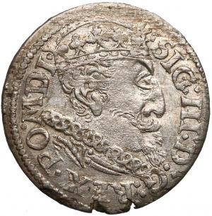 Zygmunt III Waza, Trojak Ryga 1619 - duże popiersie