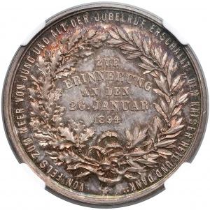 Niemcy, Medal Bismarck 1894 - NGC PF65