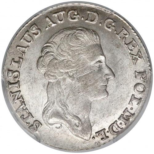 Poniatowski, Złotówka 1791 EB