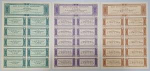 Bank Dyskontowy Warszawski - zestaw 3szt
