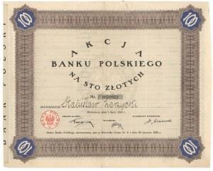 Bank Polski, 100 zł 1924