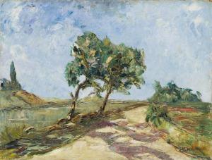 Włodzimierz Terlikowski (1873 - 1951), Drzewa przy drodze